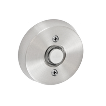 Fusion B-EL-A8 Beveled Round Doorbell Brushed Nickel (BRN)