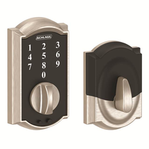 Schlage BE375CAM619 Camelot Touch Deadbolt Satin Nickel