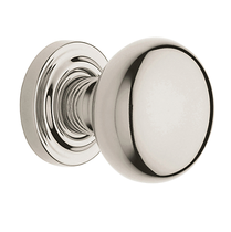 Baldwin Estate 5000 door Knob Set Lifetime Polished Nickel (055)