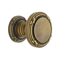 Baldwin Estate 5013 door Knob Set Satin Brass and Black (050)
