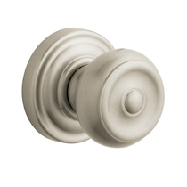 Baldwin Estate Pre-Configured 5020 Colonial Door Knob Set 150 Satin Nickel