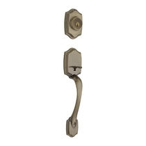 Kwikset Belleview Handleset in Antique Brass (5)