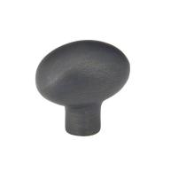 Emtek Sandcast Bronze Egg Cabinet Knob 86052, 86053, 86217