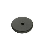 Emtek 86341 Sandcast Bronze Round Backplate Flat Black Patina (FB)