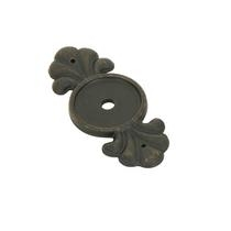 Emtek 86234 Tuscany Bronze Knob Backplate Medium Bronze Patina (MB)
