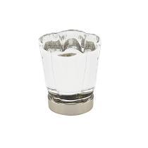 Emtek 86565 Forza Crystal Cabinet Cabinet Knob