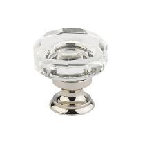 Emtek 86571 Lowell Crystal Cabinet Cabinet Knob