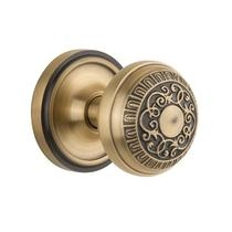 Nostalgic Warehouse Egg & Dart Privacy Mortise with Classic Rose Antique Brass