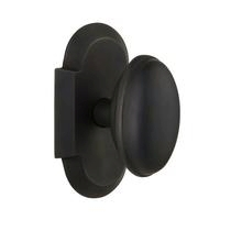 Nostalgic Warehouse Cottage Plate with Homestead Knob Oil Rubbed Bronze