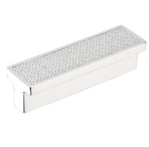 Emtek Carbon Fiber Silver Bin Pull 86374, 86375