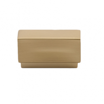 Emtek 86446, 86447Urban Modern Cinder Cabinet Knob Satin Brass