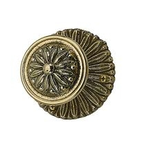 Brass Accents Helios Rosette with choice of knob or lever