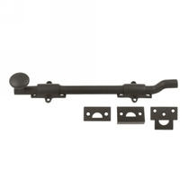 "Deltana FPG10 10"" Solid Brass Offset Surface Bolt in Oil Rubbed Bronze (US10B)"