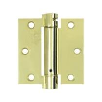 "Deltana 3 1/2"" X 3 1/2"" Square Corner Spring Steel Hinge DSH35"
