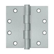 "Deltana 4 1/2"" x 4 1/2"" Square Corner Heavy Duty Steel Hinges S45U"