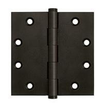"Deltana 4 1/2"" x 4 1/2"" Square Corner Solid Brass Hinges DSB45"