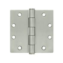 "Deltana 4 1/2"" x 4 1/2"" Square Corner Stainless Steel Hinges SS45U32D"