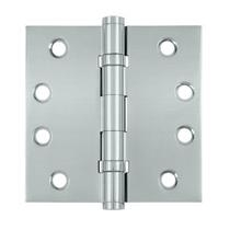 "Deltana 4"" x 4"" Square Corner Ball Bearing Solid Brass Hinges DSB4B"