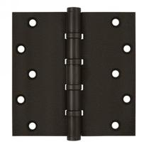 "Deltana 6"" x 6"" Square Corner Ball Bearing Solid Brass Hinges DSB66BB"