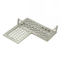 Deltana Heavy Duty Corner Left Shower Basket Shelf WBHDCL9