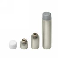 Deltana bds450 Solid Brass Extendable Baseboard Door Bumper in Satin Nickel