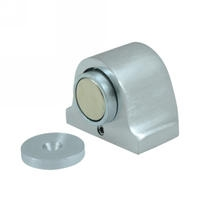 Deltana Magnetic Dome Stop & Catch in Satin Chrome (US26D)