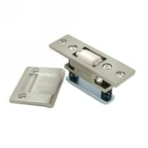 Baldwin 0430 Extra Heavy Duty Roller Latch w/Full Lip Strike Satin Nickel (150)