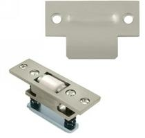 Baldwin 0432 Extra Heavy Duty Roller Latch w/T Strike in Satin Nickel (150)