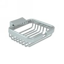 "Deltana Heavy Duty 4 3/4"" Wire Basket Soap Holder WBR4535"