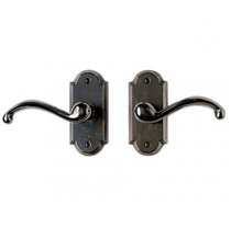 Rocky Mountain E701 Arched Escutcheon with choice of Knob or Lever