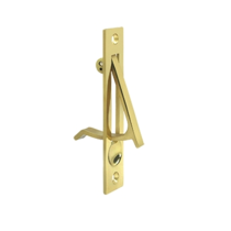 "Deltana EP475-3 Edge Pull 4"" Polished Brass"