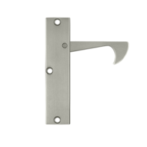 Deltana EPT425-15 Thin Edge Pull in Satin Nickel