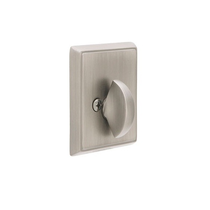 Emtek 8568 Rectangular Style Single Sided Deadbolt Satin Nickel (US15)