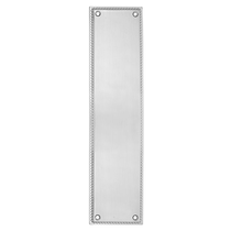 Emtek Brass Knoxville Push Plate Satin Nickel 86081