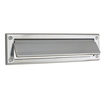 Emtek Solid Brass Mail Slot Satin Nickel (US15)