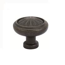 Emtek Tuscany Bronze Round Cabinet Knob 86091, 86092, 86116