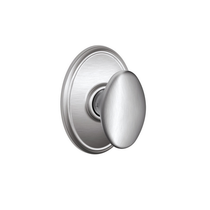 Schlage F10SIE626WKF Siena Passage Door Knob Set with Wakefield Rose