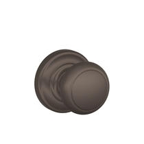 Schlage F170-AND-AND Andover Single Dummy Door Knob with Andover Rose (613)