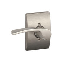 Schlage F170MER619CEN Merano Single Dummy Door Lever Set with Century Rose