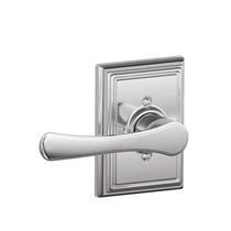 Schlage F170VLA625ADD Avila Single Dummy Door Lever Set with Addison Rose
