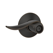 Schlage F40SAC716 Sacramento Privacy Door Lever Set Aged Bronze