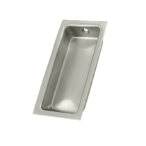Deltana FP227-15 Large Rectangular Flush Pull Satin Nickel