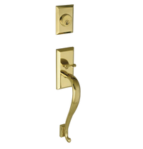 Grandeur Fifth Avenue Handlest, S Grip shown in Lifetime Brass (LB)