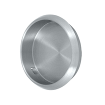 Deltana -26DFlush Pull Satin chrome