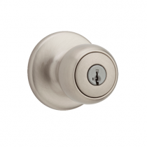 Weiser GAC531F Keyed Entry 15 Satin Nickel