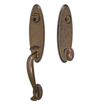 Fusion Classic Brass Ridgeland Handleset with Egg Knob Medium Bronze