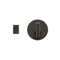 Rocky Mountain IP205 Round Metro Mortise Bolt with Emergency Release Trim