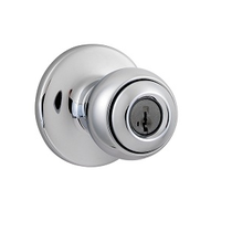 Kwikset 400P-SMT SmartKey Entry 26 Polished Chrome