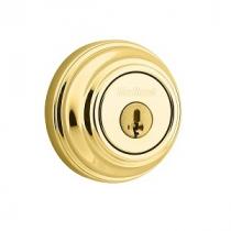 Kwikset 985-SMT L-03 Lifetime Polished Brass