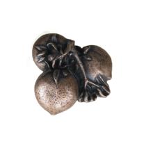 Emenee LU1224 Persimmon Cabinet Knob in Old World Copper (OWC)